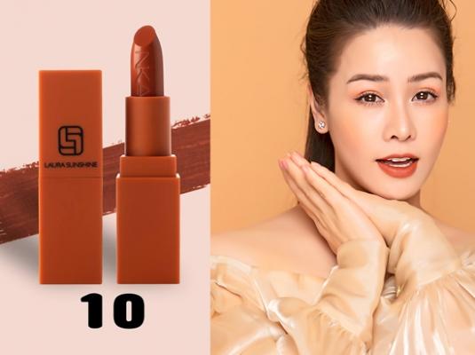 Son Laura Sunshine Nhật Kim Anh Victory 10 - Màu Nude Nâu Đất