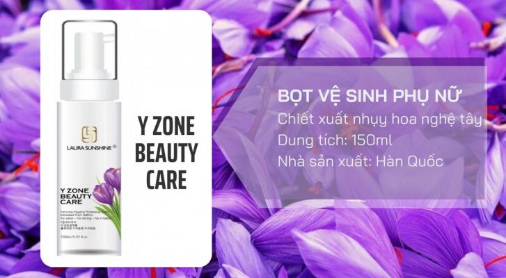 Bọt vệ sinh phụ nữ nhuỵ hoa nghệ tây Laura Sunshine Y Zone Beauty Care