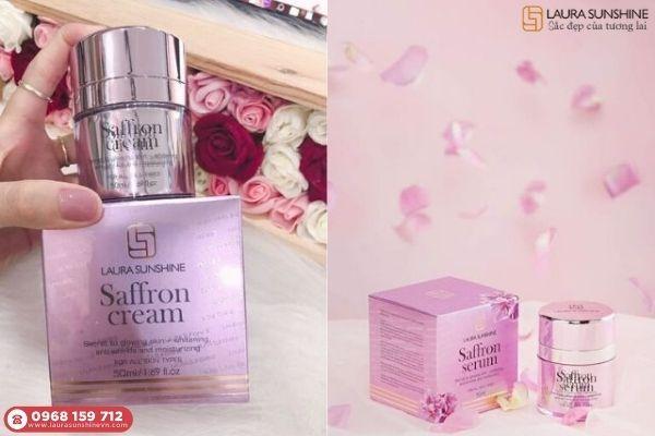 #1. Review kem dưỡng da ban đêm nhụy hoa nghệ tây Saffron (Mặt)