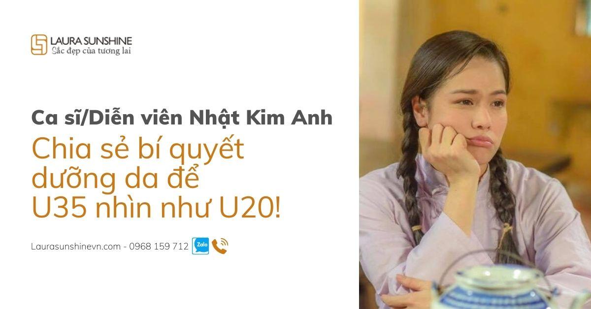 Nhật Kim Anh chia sẻ bí quyết chăm sóc da giúp U35 nhìn như U20
